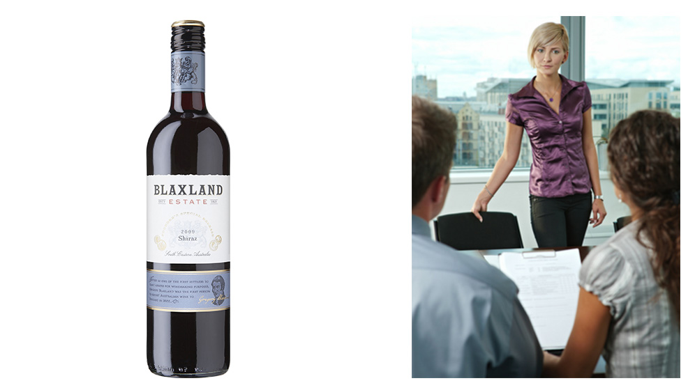 Blaxland Estate Shiraz or Mock Interview via Skype?